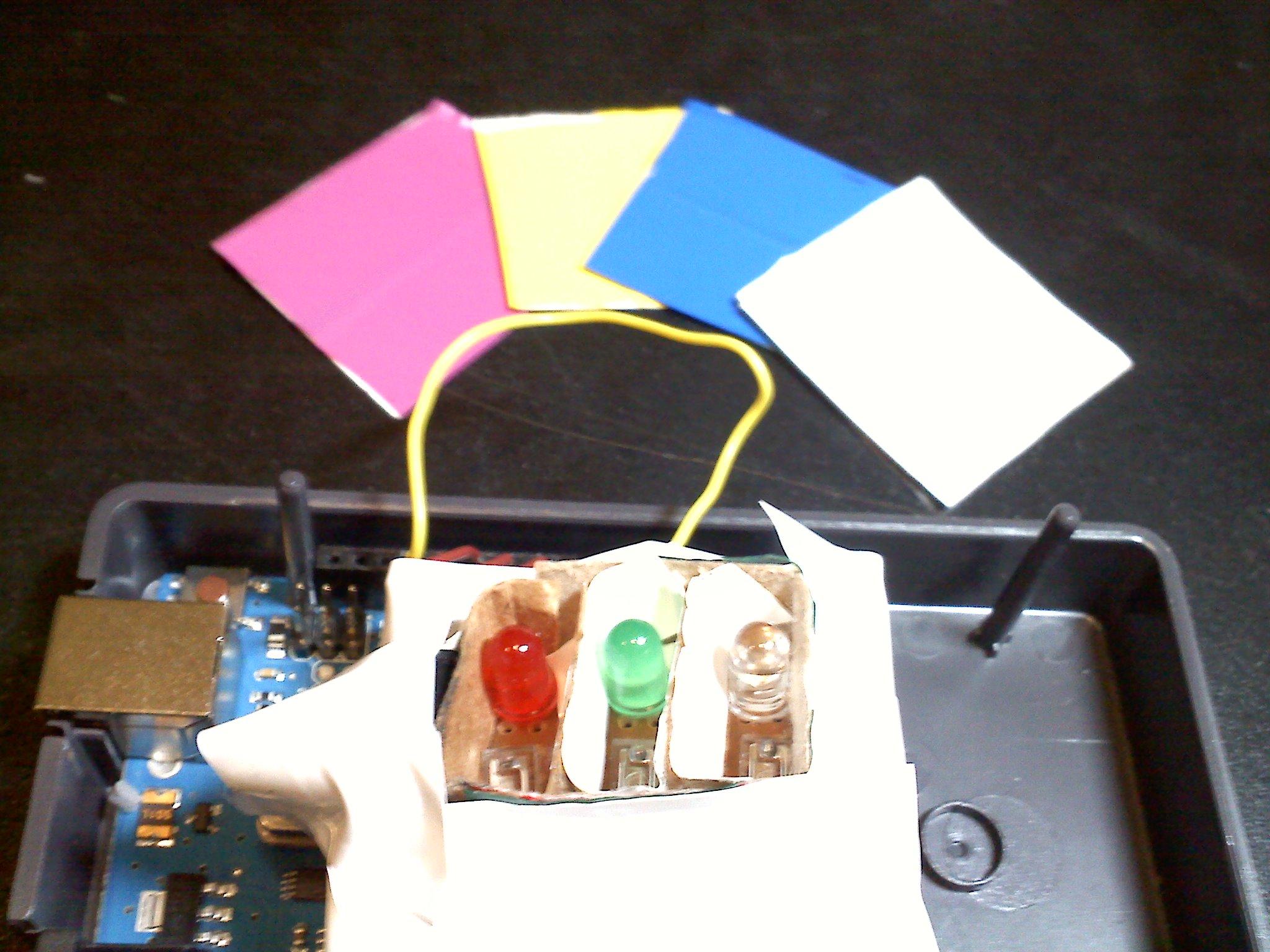 Arduino Color Sensor