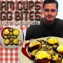 Ham Cups - Egg Bites // Student Breakfast!