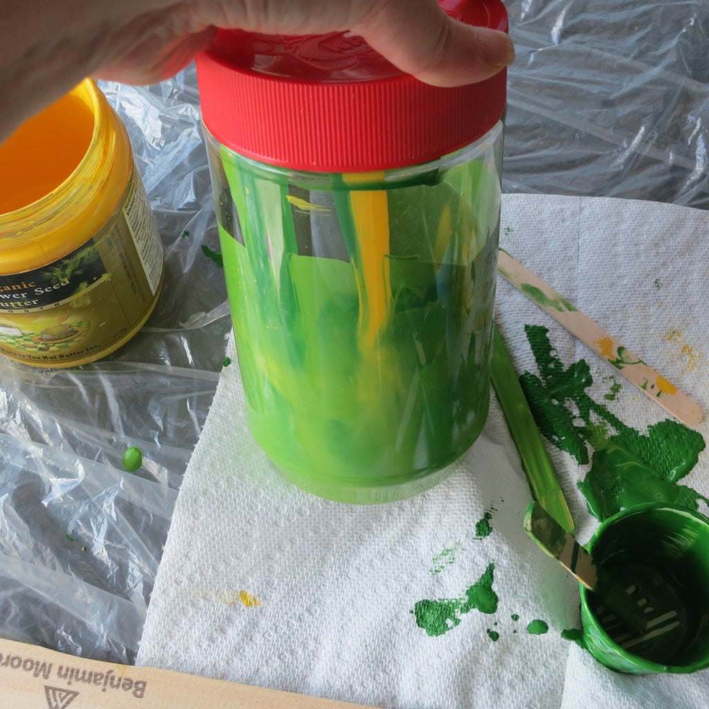 Mixing Your Own Paint Colour