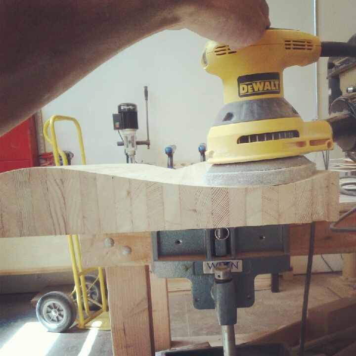 Sanding Concave Surfaces with DIY Foam Pad/Random Orbital