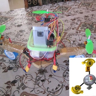 Completely Scratch Built Tricopter