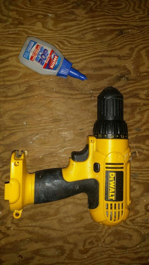 Drill, Glue