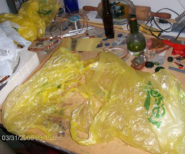 Recycle Plastic Shopping Bags Into 'Yarn'