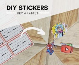 Make Your Custom Sticker Using Label Paper