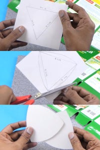 Let's Take White Sheet and Make Triangles!