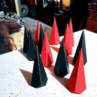 Black Star – Paper Polyhedron