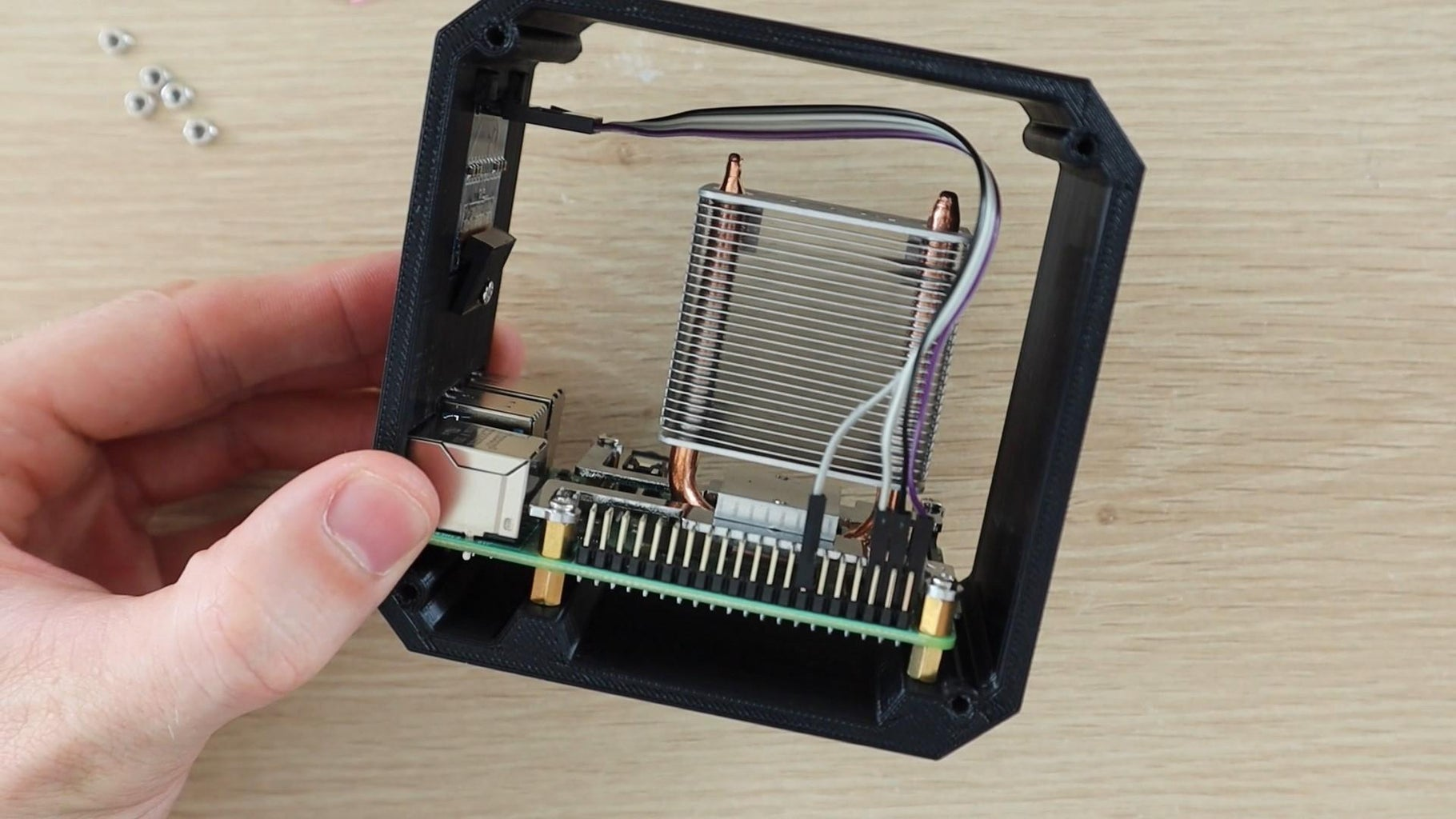 Install the OLED Display