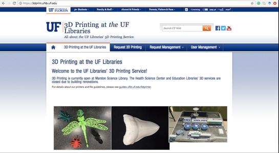 Go to UF's Printing Lab Website