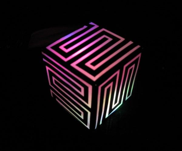 Making a Fun Paper Lantern With the Silhouette Cutting Machine