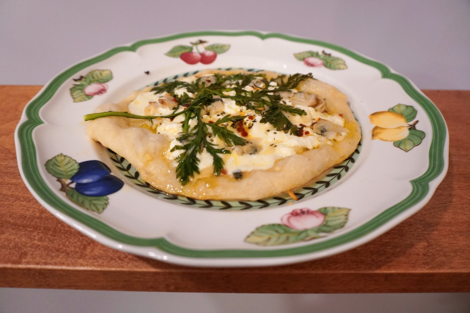 White Clam Pie With a Japanese Touch