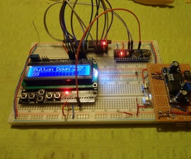1602 LCD Keypad Shield Module With I2C Backpack