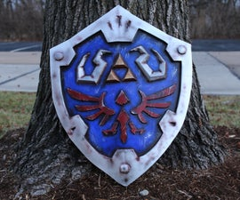 Link's Hylian Shield From Breath of the Wild