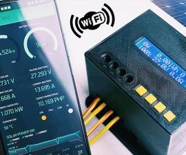 DIY 1kW MPPT Solar Charge Controller (WiFi & Arduino ESP32)