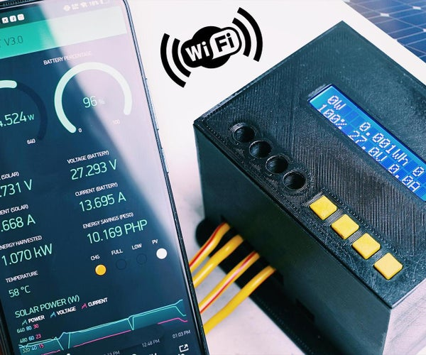 DIY 1kW MPPT Solar Charge Controller