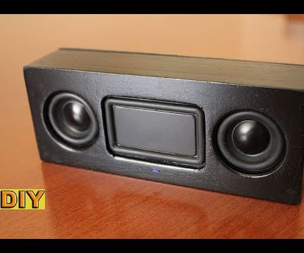 DIY: Compact Bluetooth Speaker