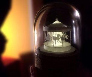 DIY Miniature Paper Carousel