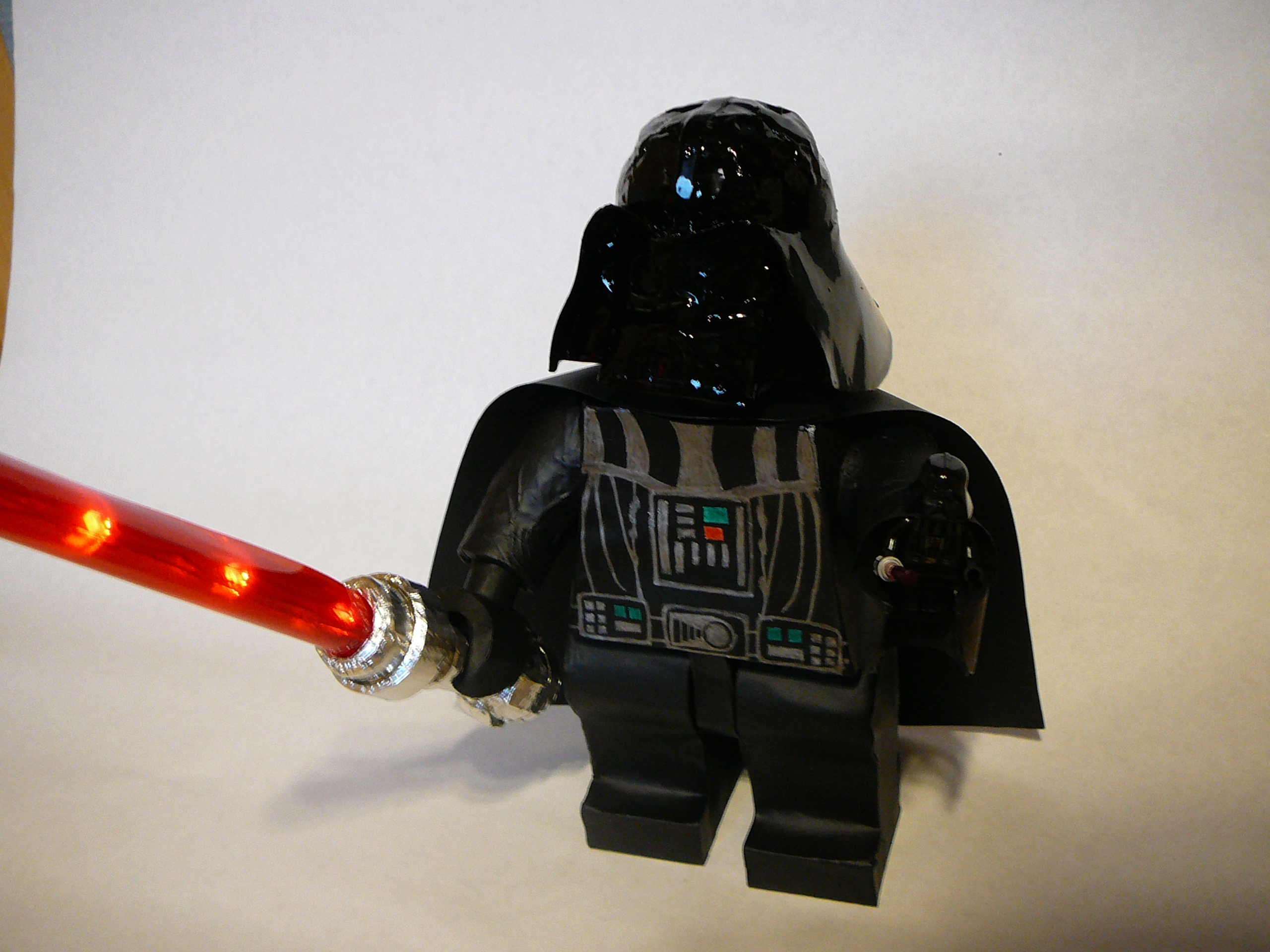 Making BIG lego Darth Vader