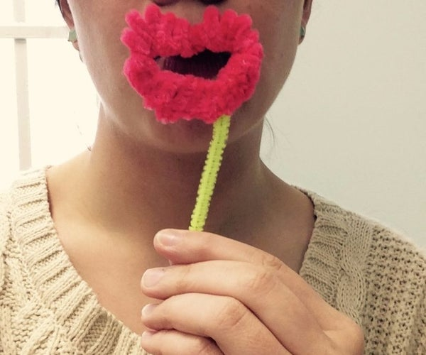 Pipe Cleaner Lips