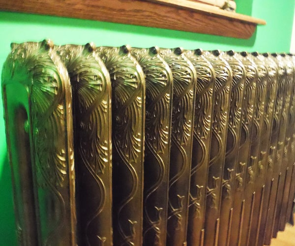 Refurbishing Antique Radiators