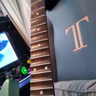 Scallop Your Guitar (Standard Scallop, Frets 14-21)