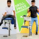Drill Press Conversion to Brushless Setup