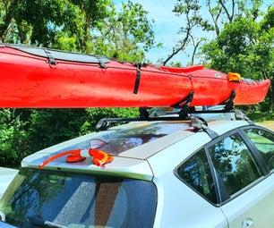 Kayak Roofrack Loading Assistor