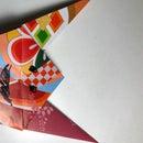 Simple Origami Oni Face