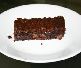 Brownies--No Butter or Fresh Eggs