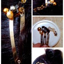 Personalized Beaded Hairclip