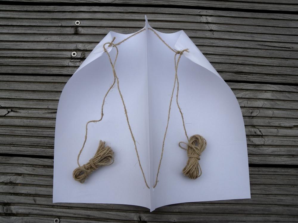 simple stunt kite