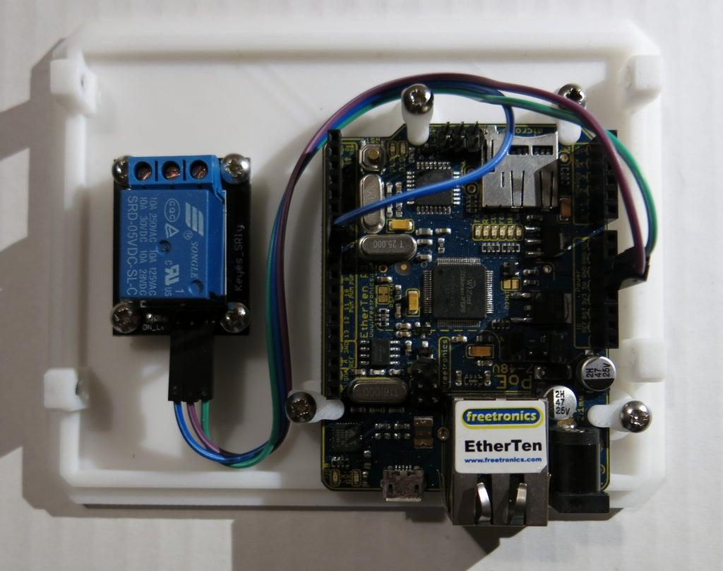 Arduino Wifi Garage Door Opener 10 Steps With Pictures Instructables