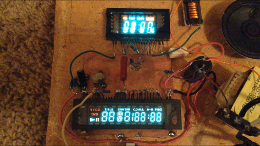 VFD Amplifier:  a Tube Amp From VCR Screens