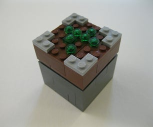Lego Piston/ Sticky Piston  ( Minecraft )