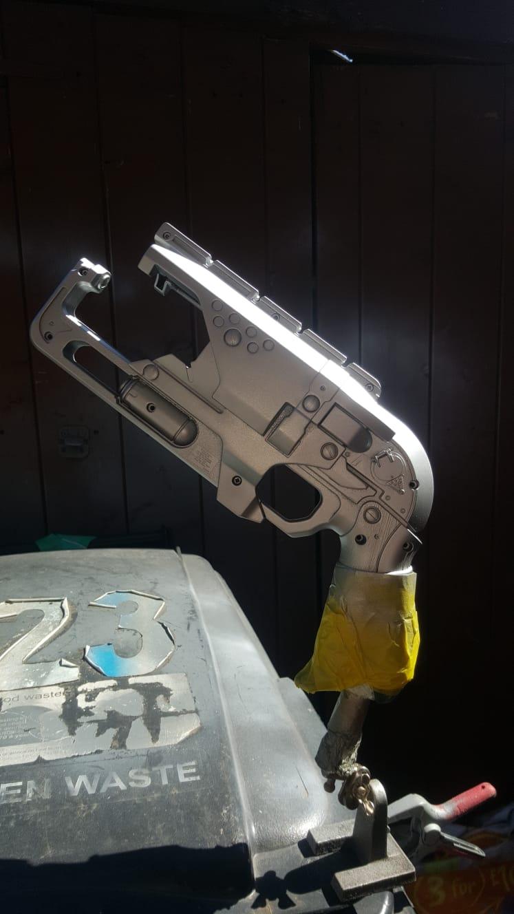 Base Coated in Aluminium Silver