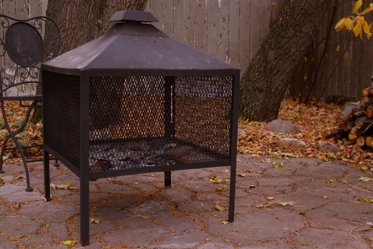 Beginner Welding Project - Outdoor Fireplace