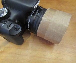 Poor Man's Lens Cap or Hood (Fits Any DSLR / Semi-DSLR)