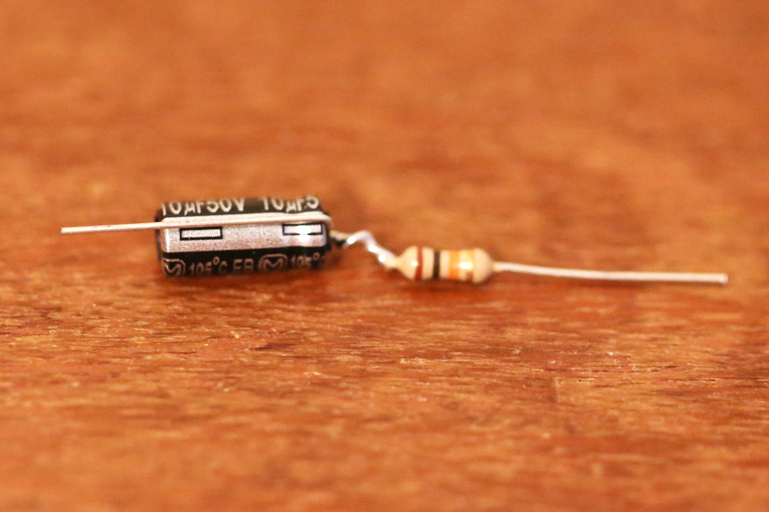 Resistor and Capaictor