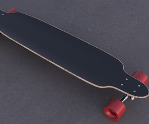Electric Longboard in Fusion 360
