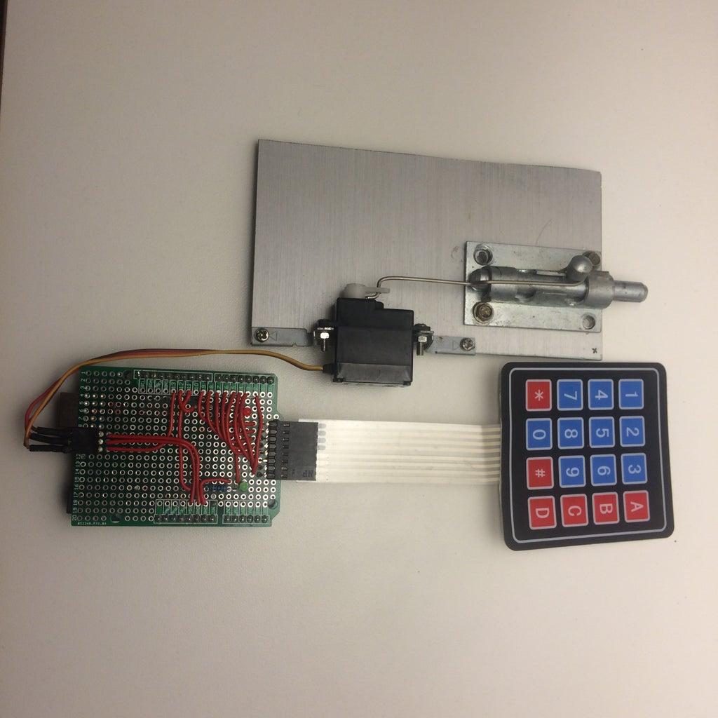 Arduino Door Lock With Password