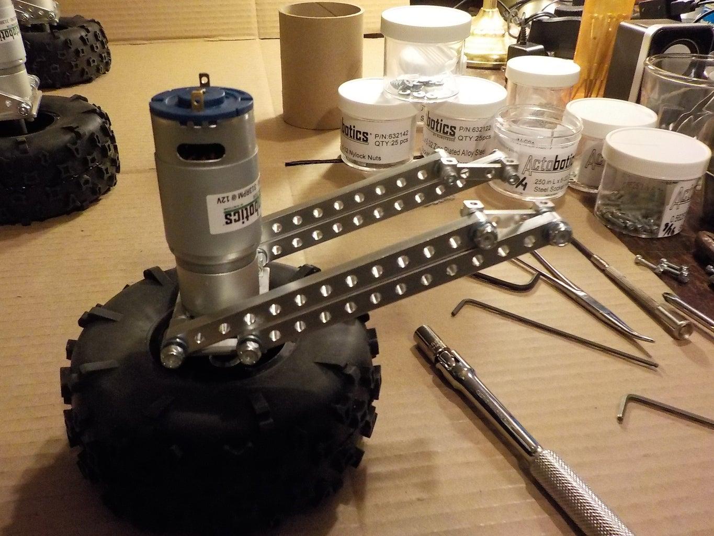Strut Assembly Step 4