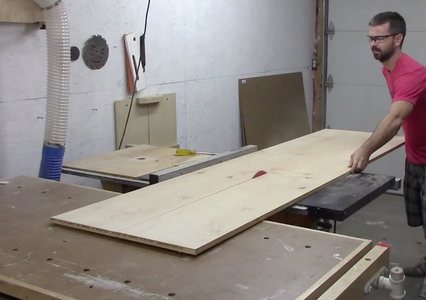 Rip Plywood & Cut to Length