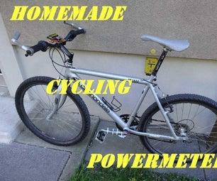 Homemade Cycling Powermeter