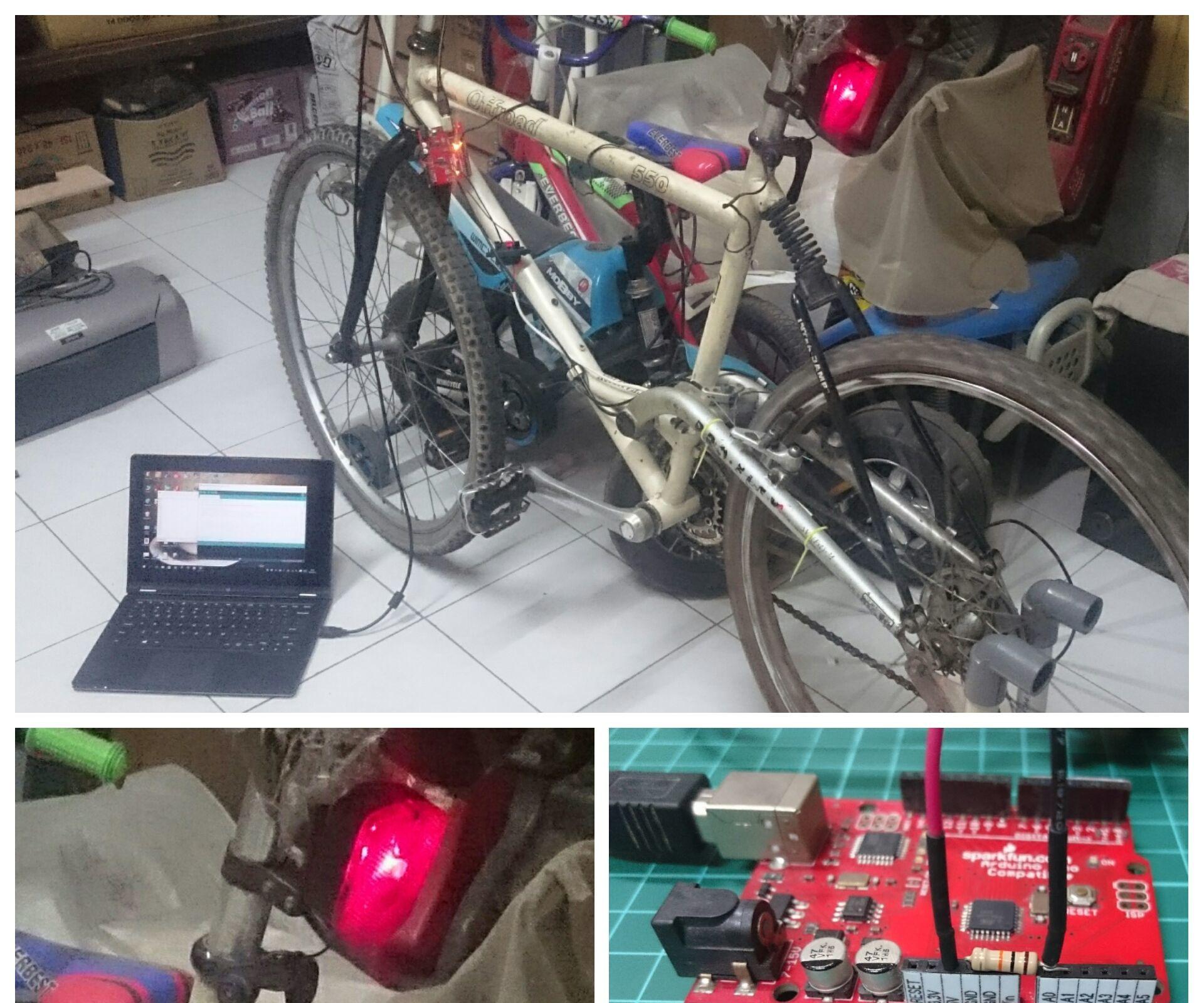 Arduino Intelligent Brake Light