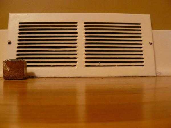 Stop Heating/Cooling an Unused Room