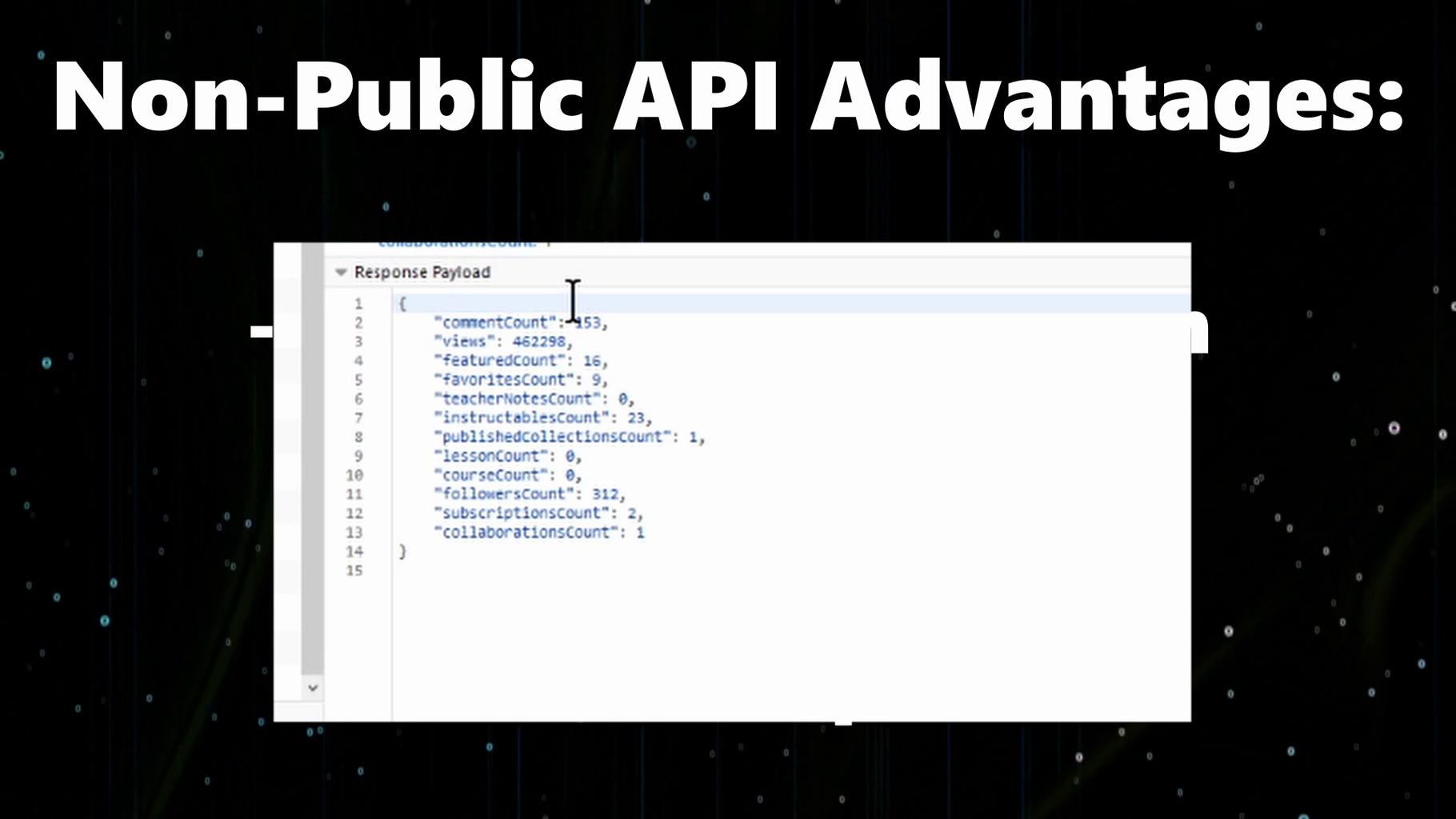 Non Public APIs (Spoiler: Instructables Has One!)