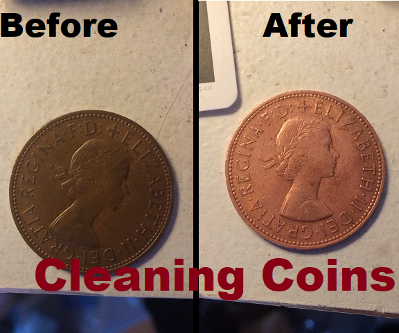 How to Clean a Coin