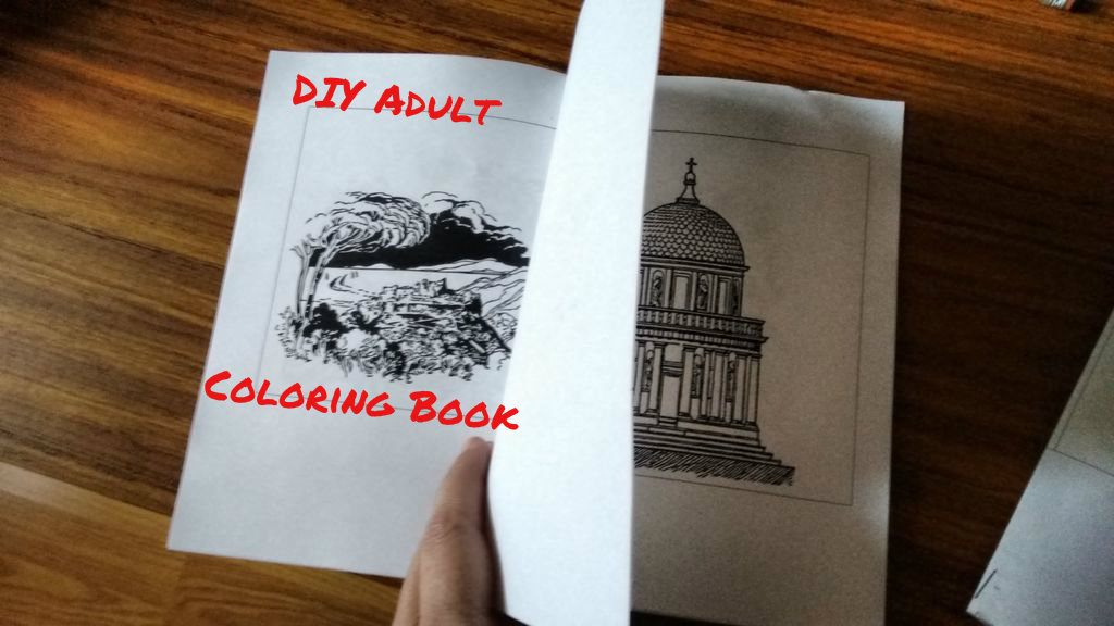 DIY Adult Coloring Book: How To Source & Create A Custom Coloring Book : 8  Steps (with Pictures) - Instructables