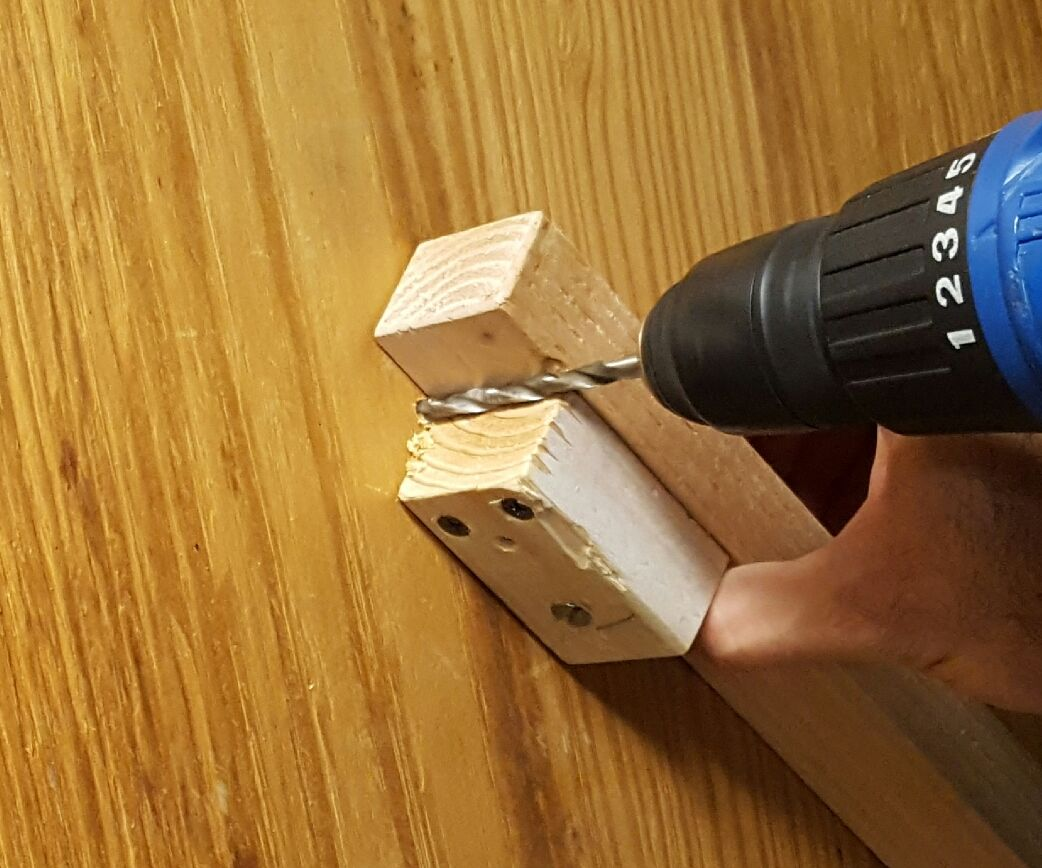 Getting the Angle Right with a Power Drill!