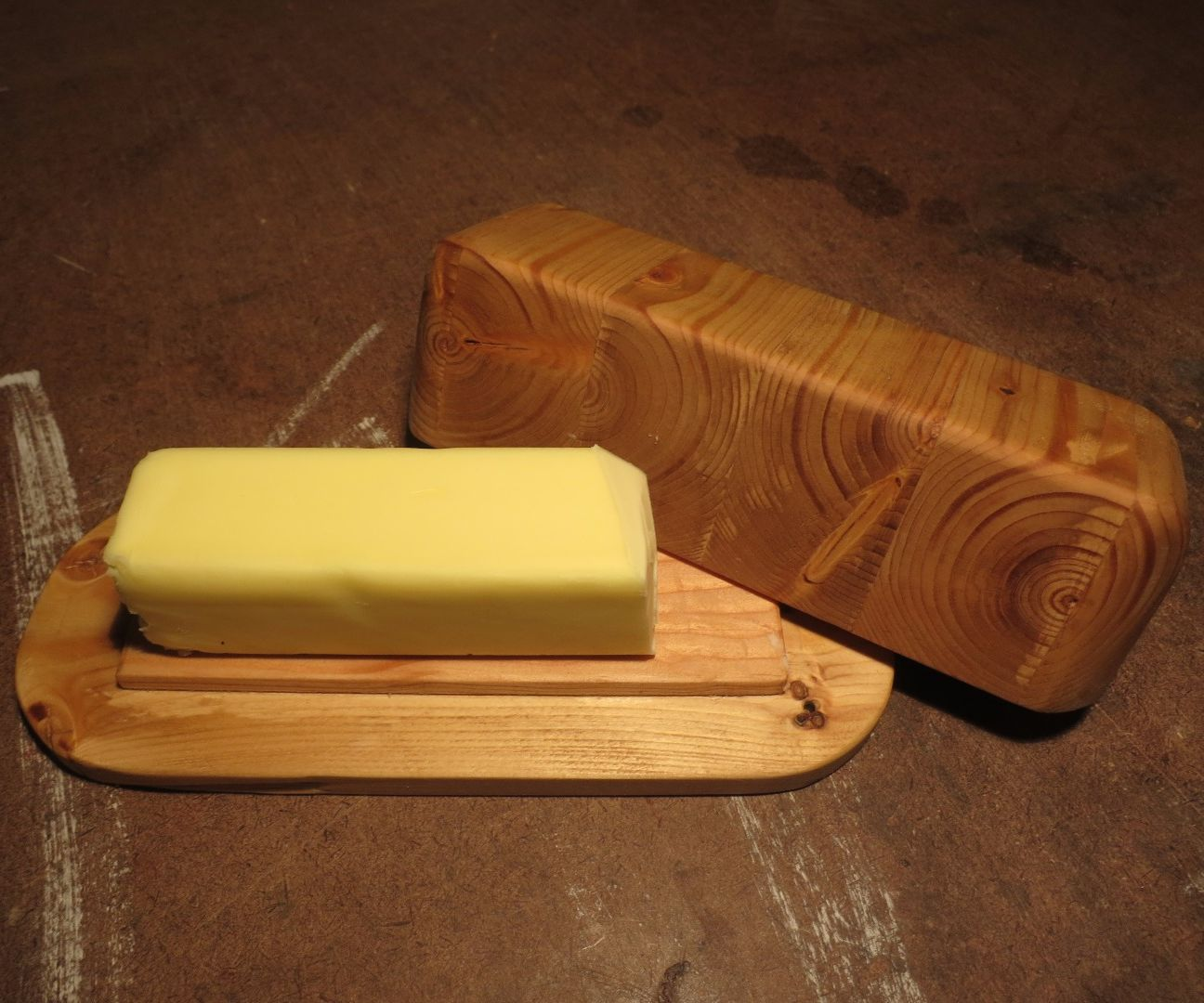 Simple 2x4 Butter Dish