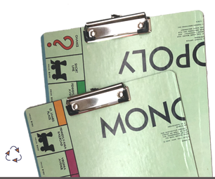 How to Make a Clipboard From a Monopoly Game